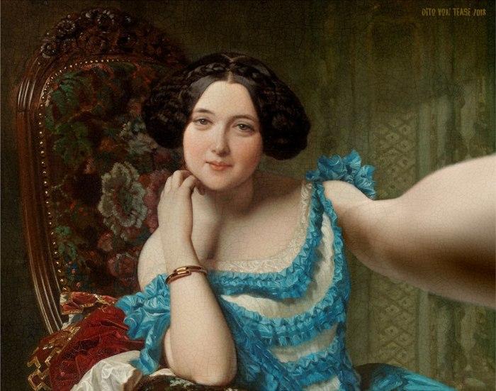 Амалия де Льяно и Дотрес, графиня Вилчес. Художник: Федерико де Мадрасо, 1853 год. Автор: Dito Von Tease.