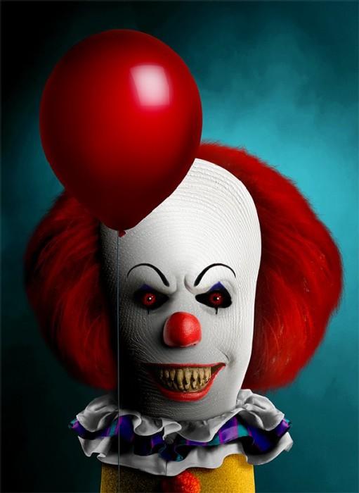 Танцующий клоун Пеннивайз/Оно. Автор: Dito Von Tease.