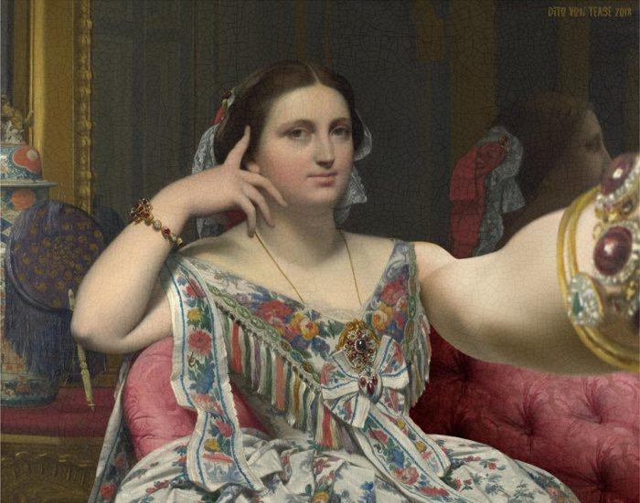 «Мадам Муатесье» — портрет Мари-Клотильде-Инес Муатесье, нарисованный Жаном Огюстом Домиником Энгром в период с 1844 по 1856 год. Автор: Dito Von Tease.