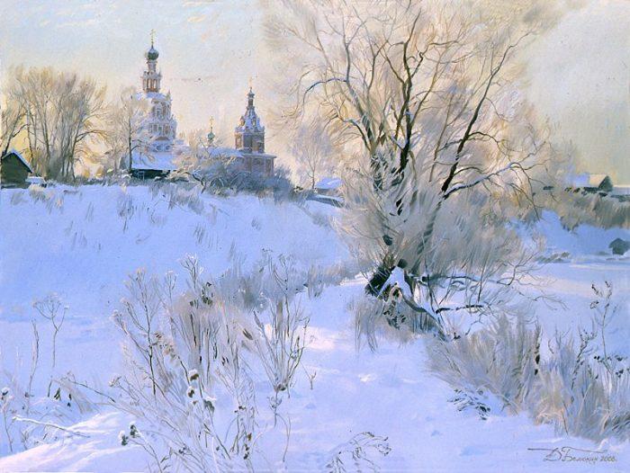 Зимушка. Автор: Дмитрий Белюкин.