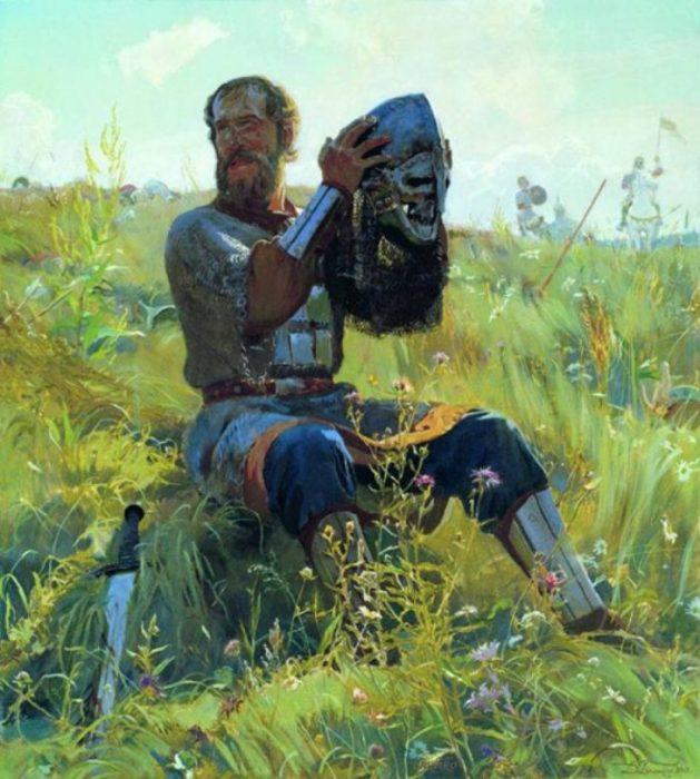 Победа. Автор: Дмитрий Белюкин.