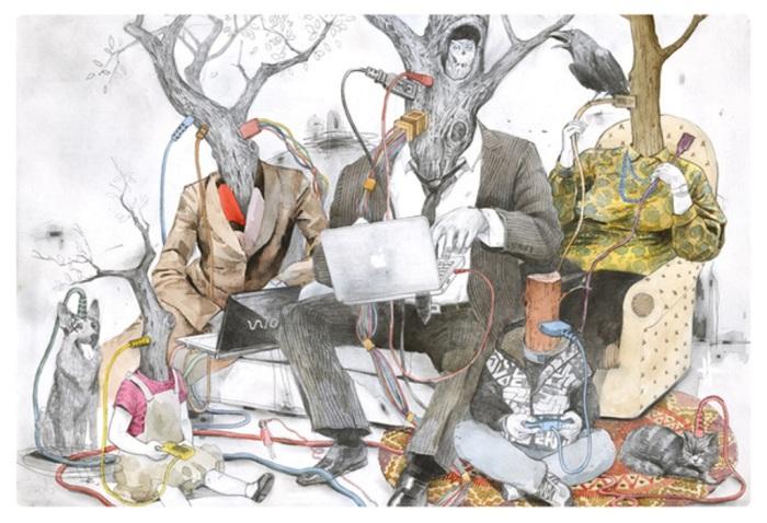 Всемирное яблоко. Автор: Дмитрий Лигай.