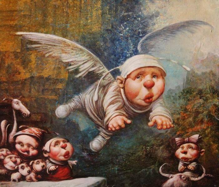 Это был ангел. Автор: Дмитрий Яковин.