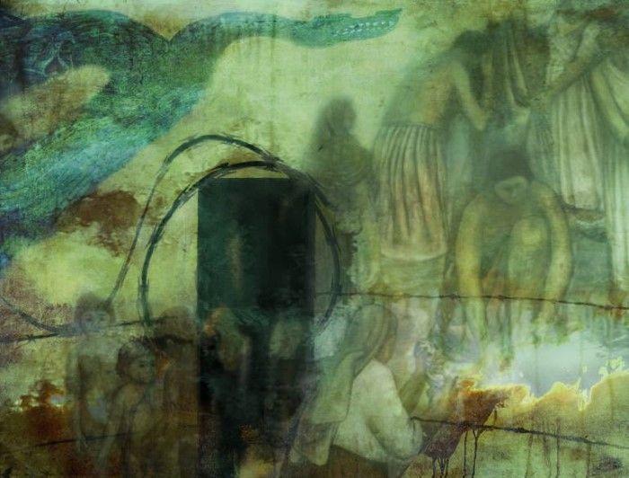 Купание возле Огня. Автор: Don Van Amerongen.