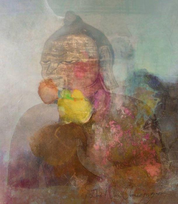 Будда в тумане. Автор: Don Van Amerongen.
