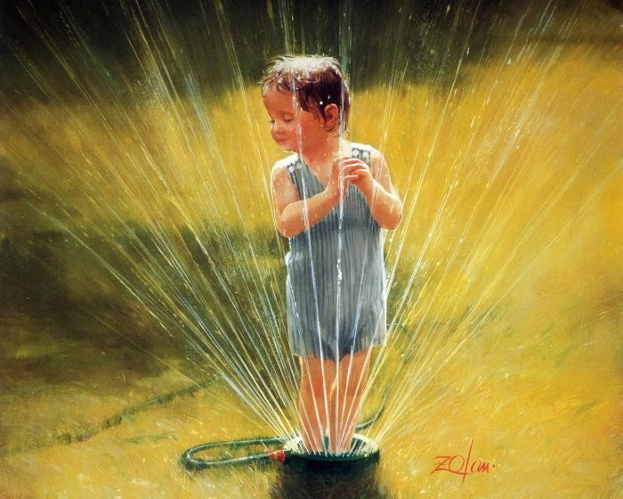 Беззаботное детство. Автор: Donald Zolan.