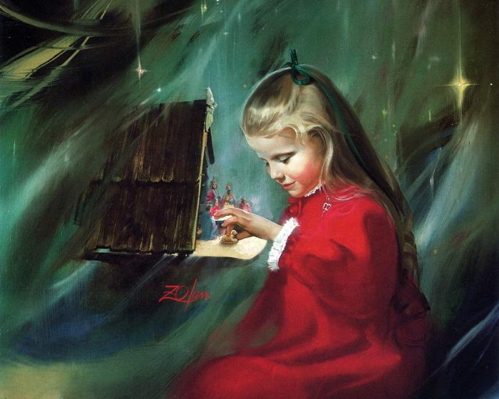 Кукольный домик. Автор: Donald Zolan.