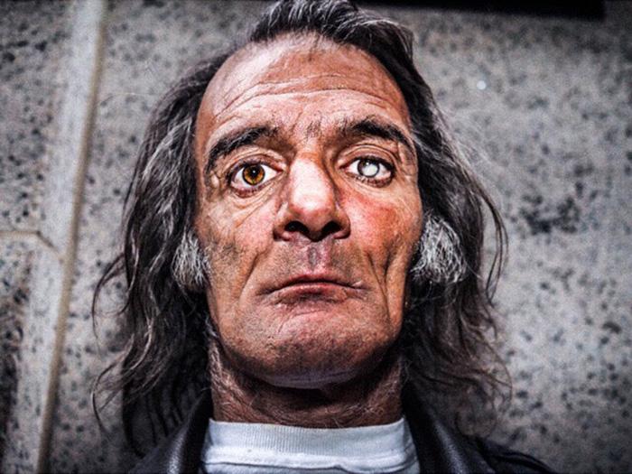 Его зовут Росарио, он родился на Сицилии. Автор: Donato Di Camillo.