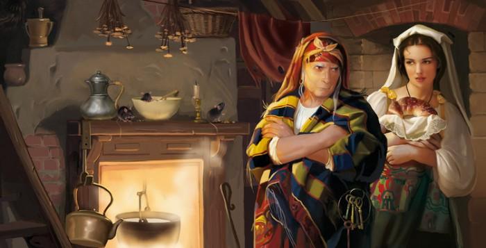 """Сказка """"Злая судьба"""". Волшебные иллюстрации Дорониной Татьяны  (Doronina Tatiana)."""
