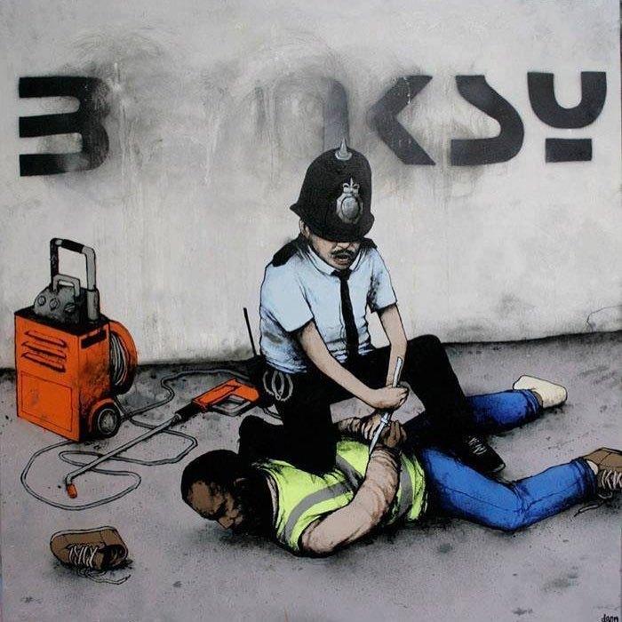 Правоохранительные органы. Автор: Dran.