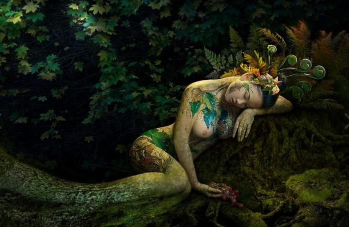 Хранительница леса. Автор: Duong Quoc Dinh.
