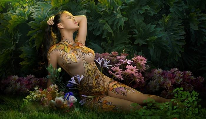 Цветочные узоры. Автор: Duong Quoc Dinh.