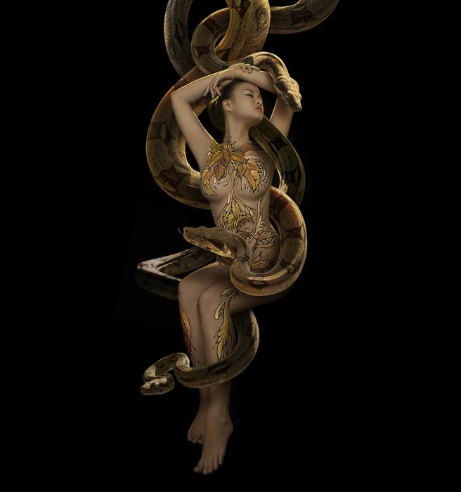 Змей-искуситель. Автор: Duong Quoc Dinh.