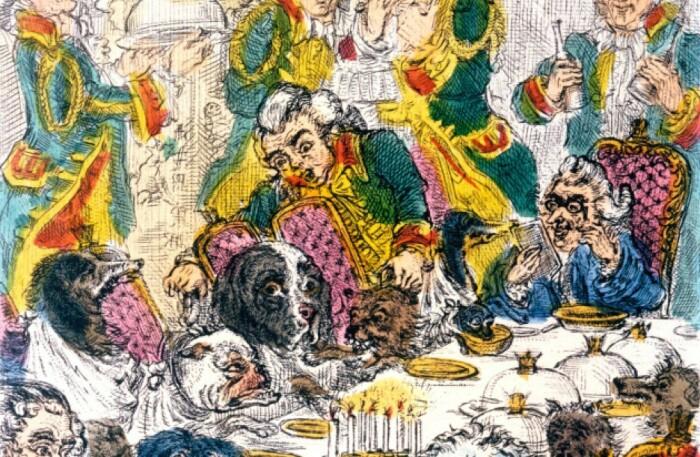 Фрэнсис Эгертон - устраивал пиры для собак. \ Фото: hermoments.com.