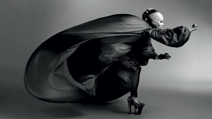 Дафна Гиннес - мисс эпатажность. \ Фото: google.com.