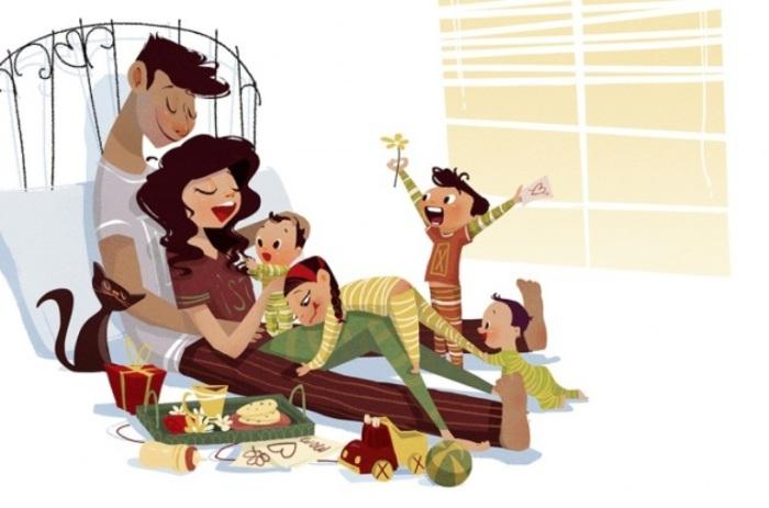 Любимая мама. Автор иллюстрации: Эда Кабан (Eda Kaban).