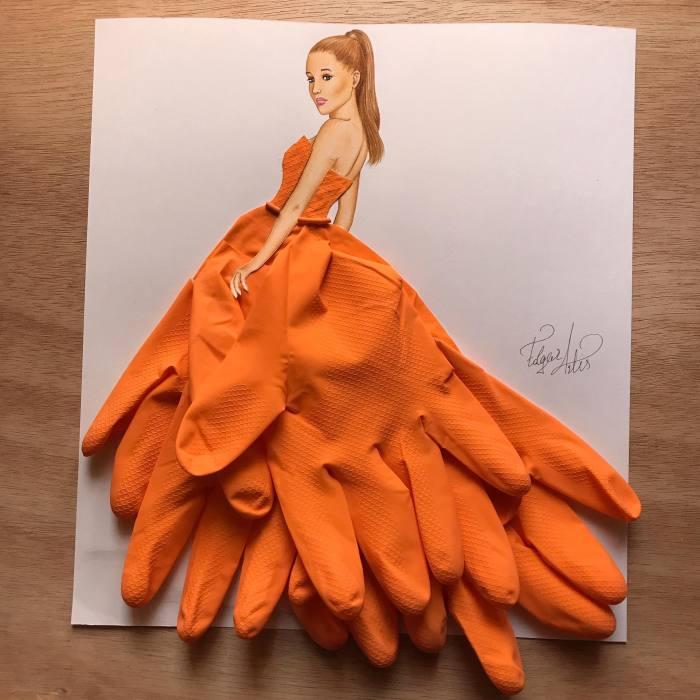 Резиновая перчатка. Автор: Edgar Artis.