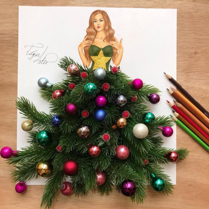 Я желаю всем Счастливого Рождества. Автор: Edgar Artis.