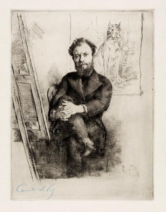 Портрет Виконта Людовика-Наполеона Лепика, Десбутен Марселин-Жильбер, 1876 год. \ Фото: artic.edu.