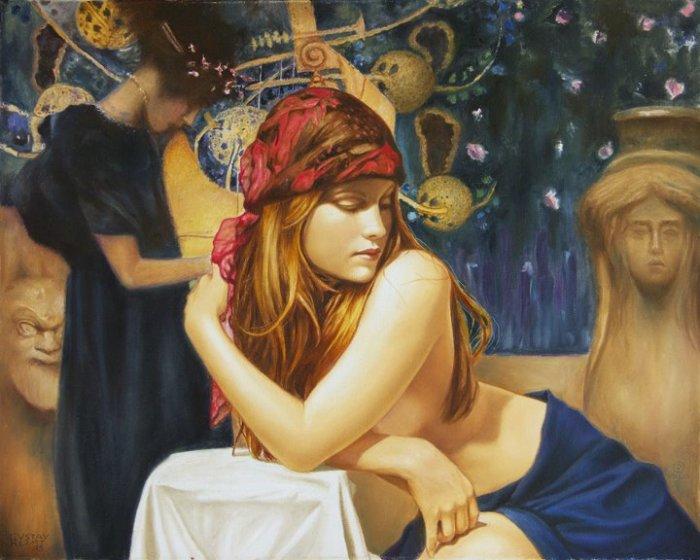 Красота, грация и чувственное ню: Картины, написанные с безграничной любовью к женщинам