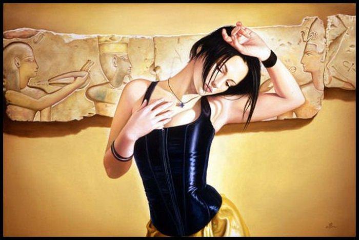 Современная Клеопатра. Автор: Edson Campos.