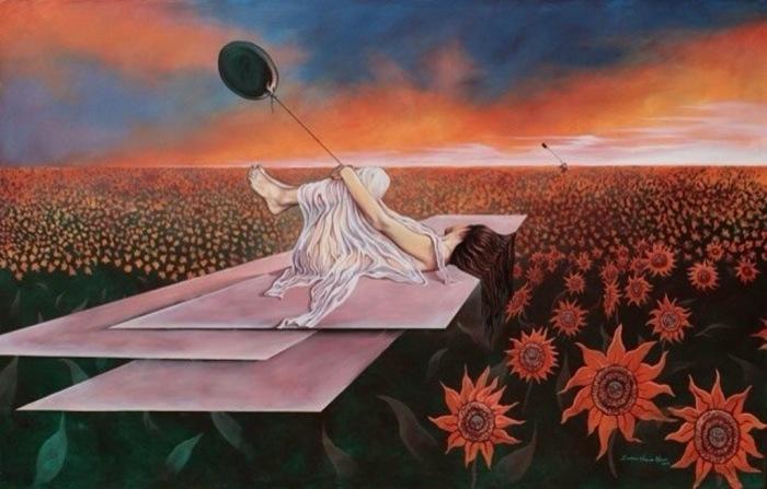 Женщина, девушка, женщина. Автор: Eduardo Urbano Merino.