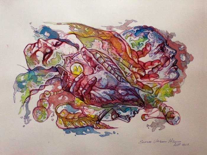 Хаос движения. Автор: Eduardo Urbano Merino.