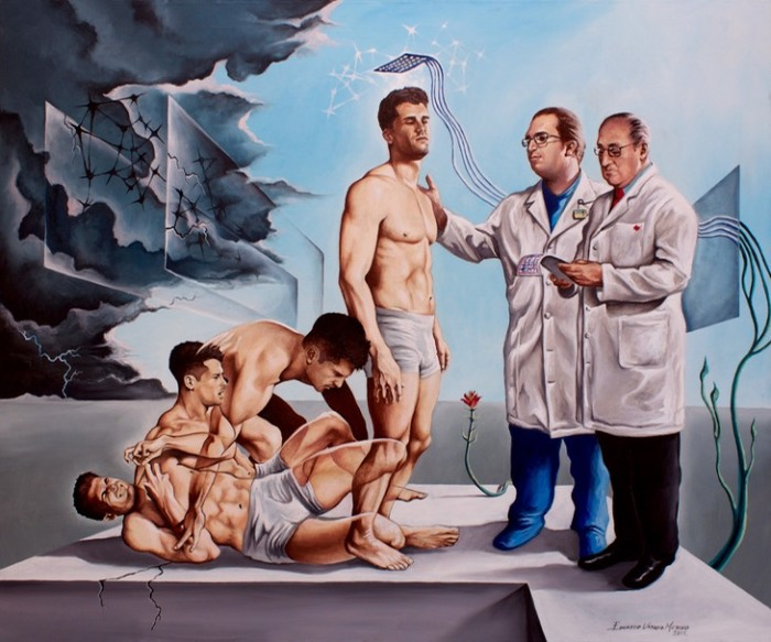 Эпилепсия, оставив позади кошмар. Автор: Eduardo Urbano Merino.