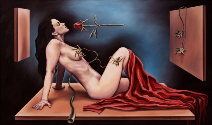 Духи Розы. Автор: Eduardo Urbano Merino.