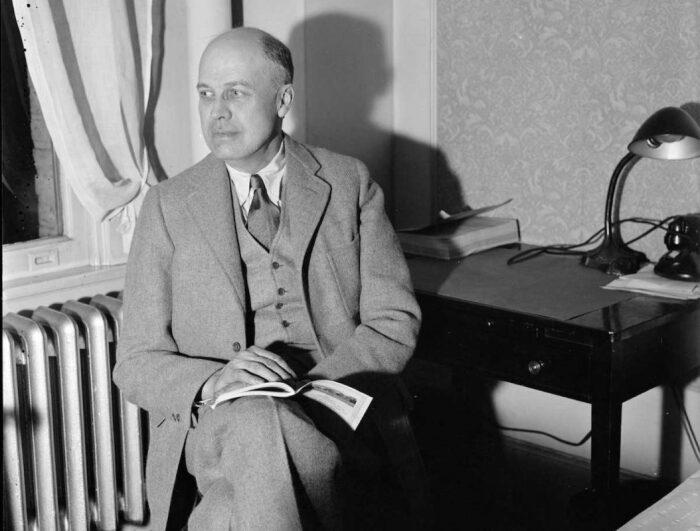 Эдвард Хоппер, нью-йоркский художник Harris & Ewing, 1937 год. \ Фото: onwardnews.com.
