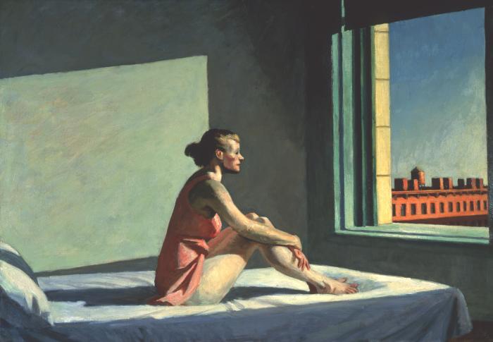 Утреннее солнце, Эдвард Хоппер, 1952 год. \ Фото: wordpress.com.