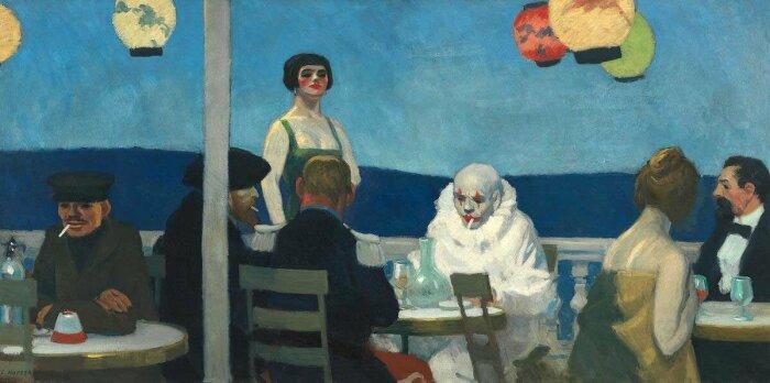 Синий вечер, Эдвард Хоппер, 1914 год. \ Фото: sohu.com.