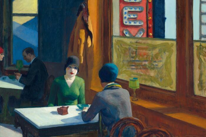 Китайское рагу, Эдвард Хоппер, 1929 год. \ Фото: imgur.com.