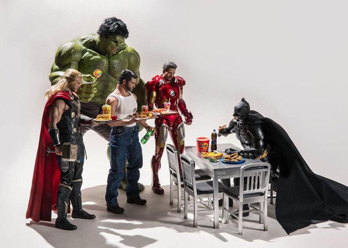 Завтрак у Бэтмена. Edy Hardjo.