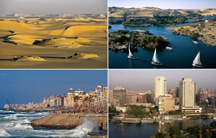 Многоликий Египет.