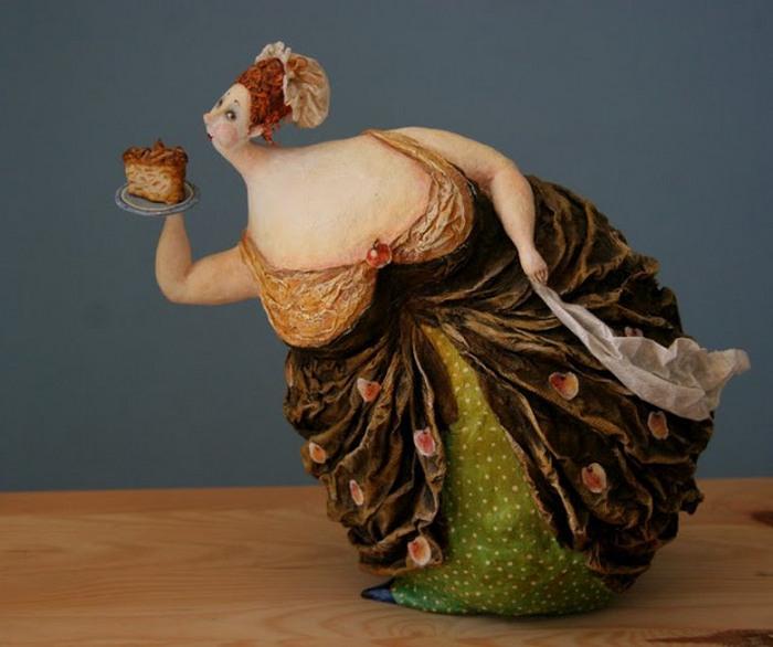 Кусочек торта. Автор: Екатерина Гусева.