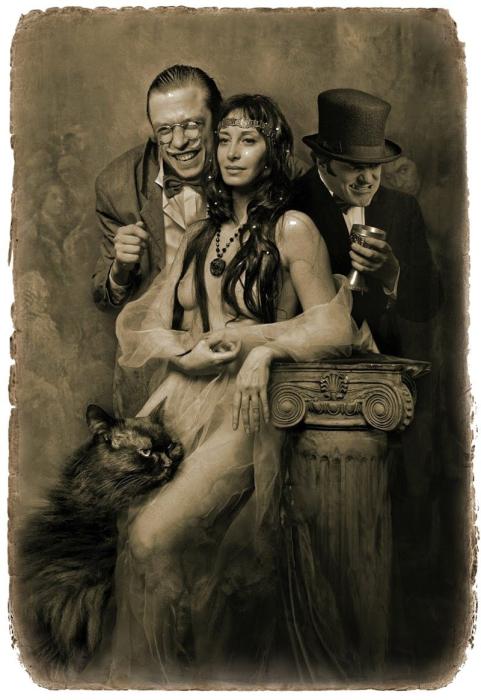 Маргарита и ее свита. «Мастер и Маргарита». Фотоиллюстрации Елены Мартынюк.