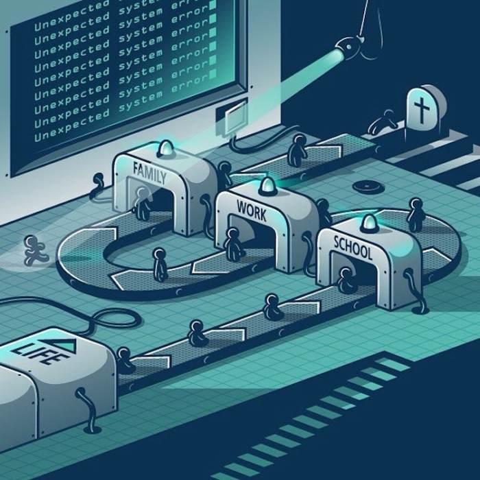 Саркастические иллюстрации о современном обществе, которые заставляют посмотреть на жизнь с другой стороны