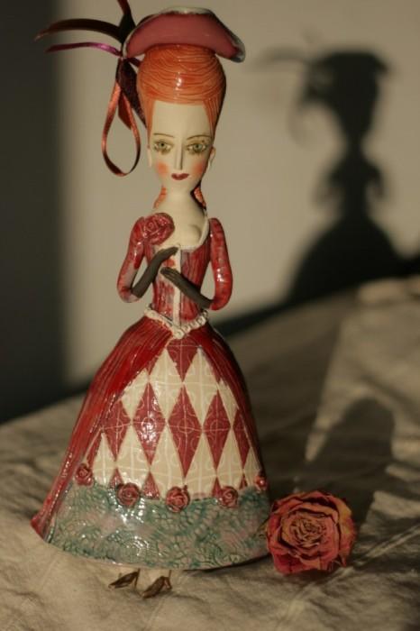Русская мастерица создаёт милые керамические фигурки, которые напоминают библейских персонажей