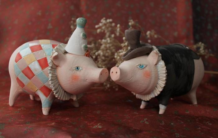 Свинки. Автор: Эля Ялонецкая.