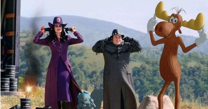 Приключения Рокки и Буллвинкля. \ Фото: kinotime.org.