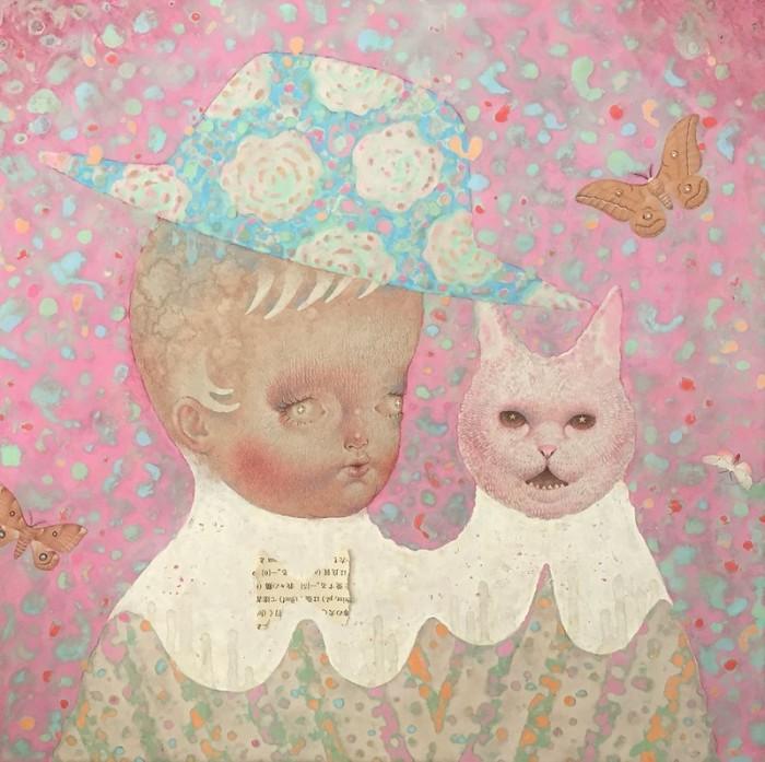Поговори с котом. Автор: Emi Adachi.