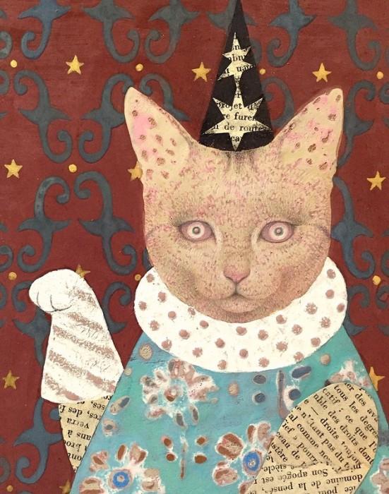 Однажды коты буду править миром. Автор: Emi Adachi.