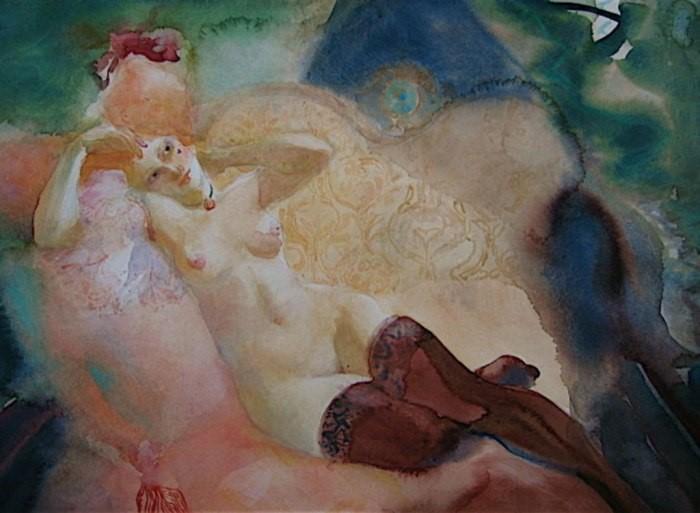 Обнажённая натура. Картины Эмилии Кастанеды Мартинес (Emilia Castaneda Martinez).