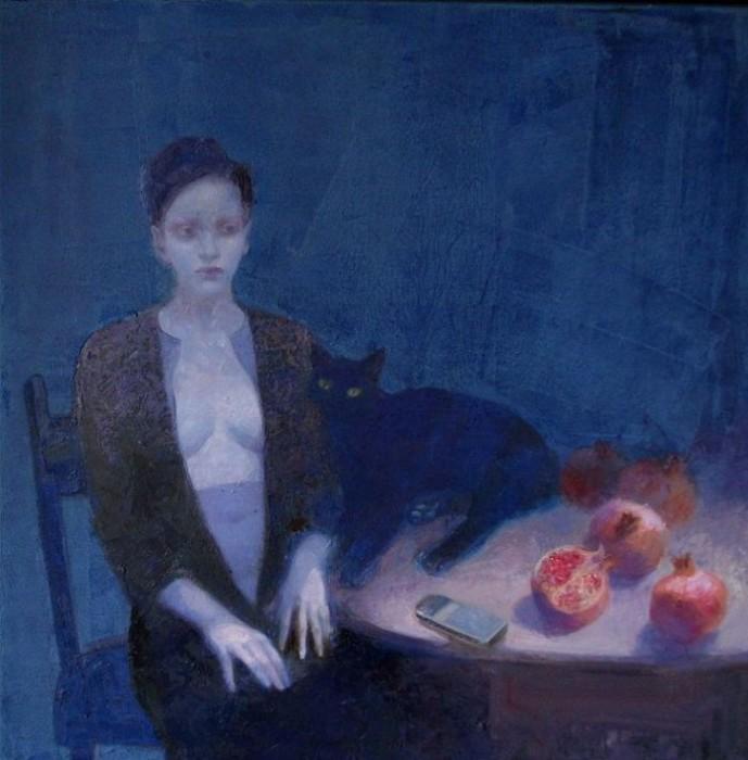 Творчество современного художника Эмилии Кастанеды Мартинес (Emilia Castaneda Martinez).