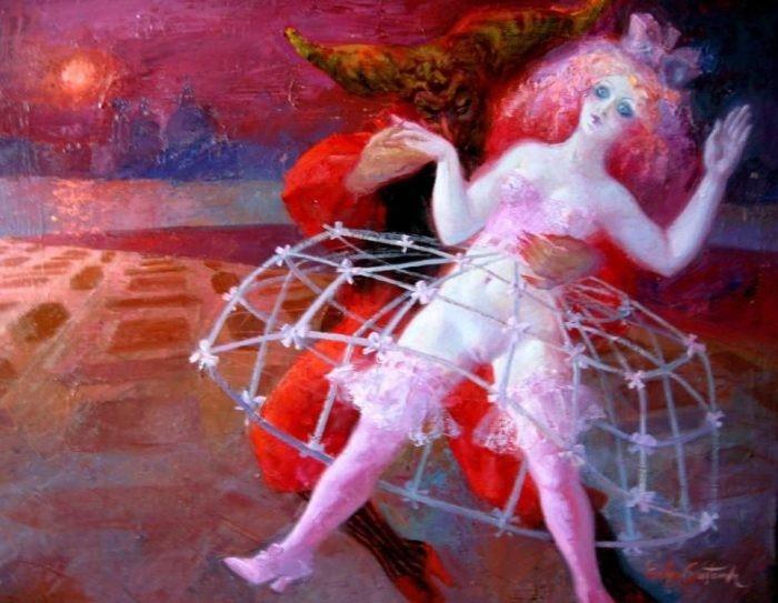 Откровенные картины Эмилии Кастанеды Мартинес (Emilia Castaneda Martinez).
