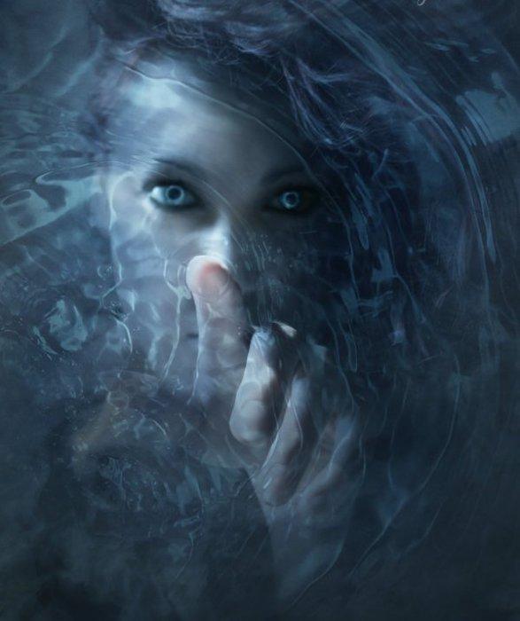 Холод. Фотоарт от Эмили Лежер (Emilie Leger).