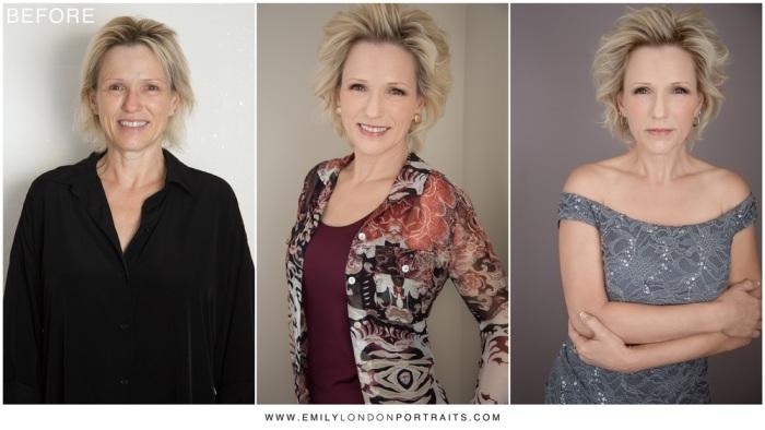 Правильно подобранный макияж, причёска и одежда - поистине творят чудеса. Невероятное преображение, или чудеса макияжа. Автор проекта: фотограф Эмили Лондон Миллер (Emily Miller London).