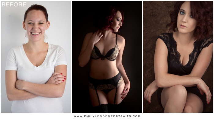 Девушки бывают разные... Невероятное преображение, или чудеса макияжа. Автор проекта: фотограф Эмили Лондон Миллер (Emily Miller London).