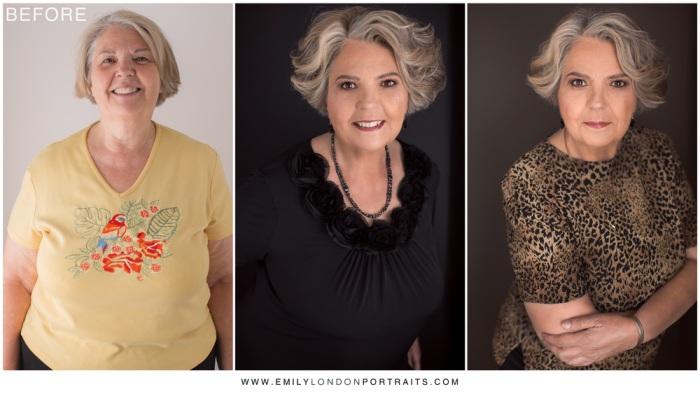 Каждая женщина прекрасна сама по себе. Невероятное преображение, или чудеса макияжа. Автор проекта: фотограф Эмили Лондон Миллер (Emily Miller London).
